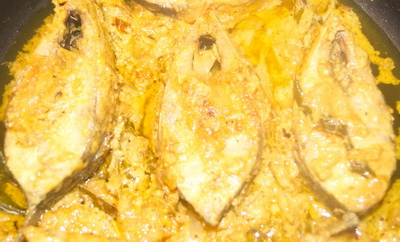 Doi ilish Doi Ilish/ Hilsa in Yogurt
