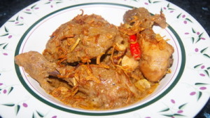 Chicken Rezala