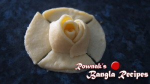 golap pitha 7 300x168 Golap Pitha / Sweet Rose