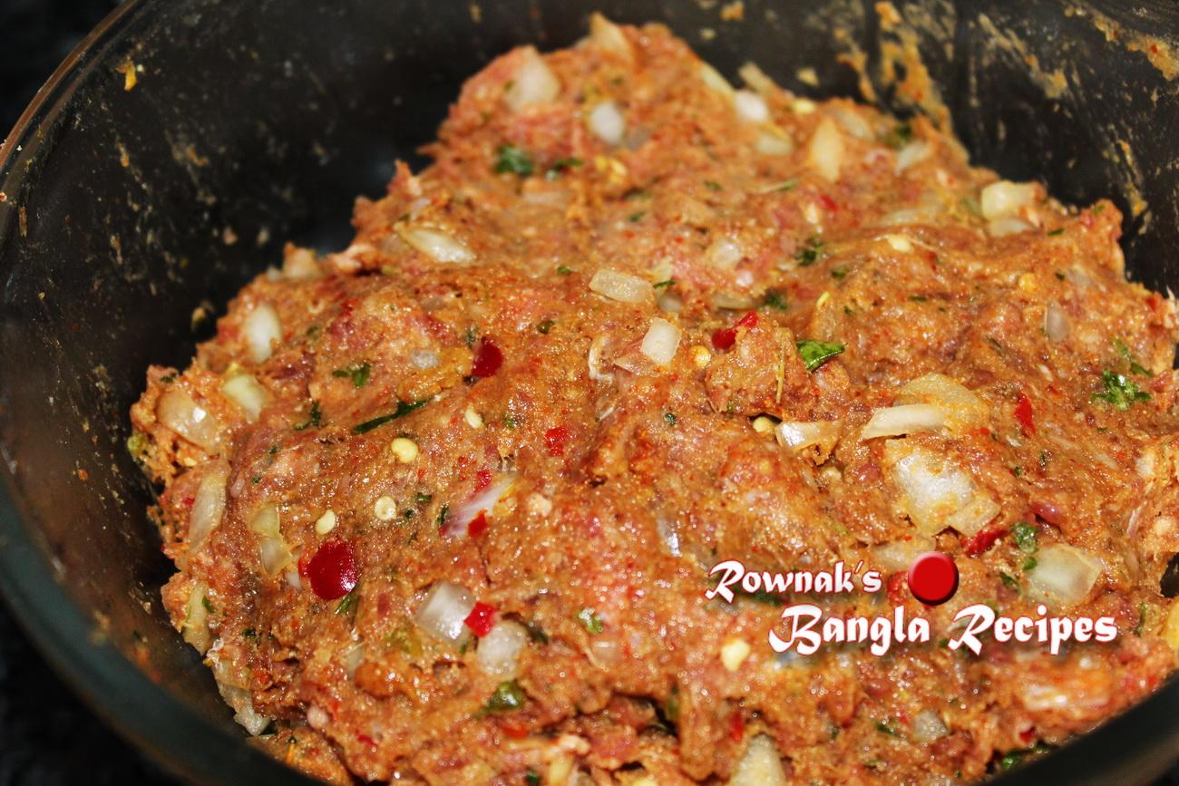 Suti kabab sutli kabab banglarecipes by rownak suti kabab 1 forumfinder Image collections