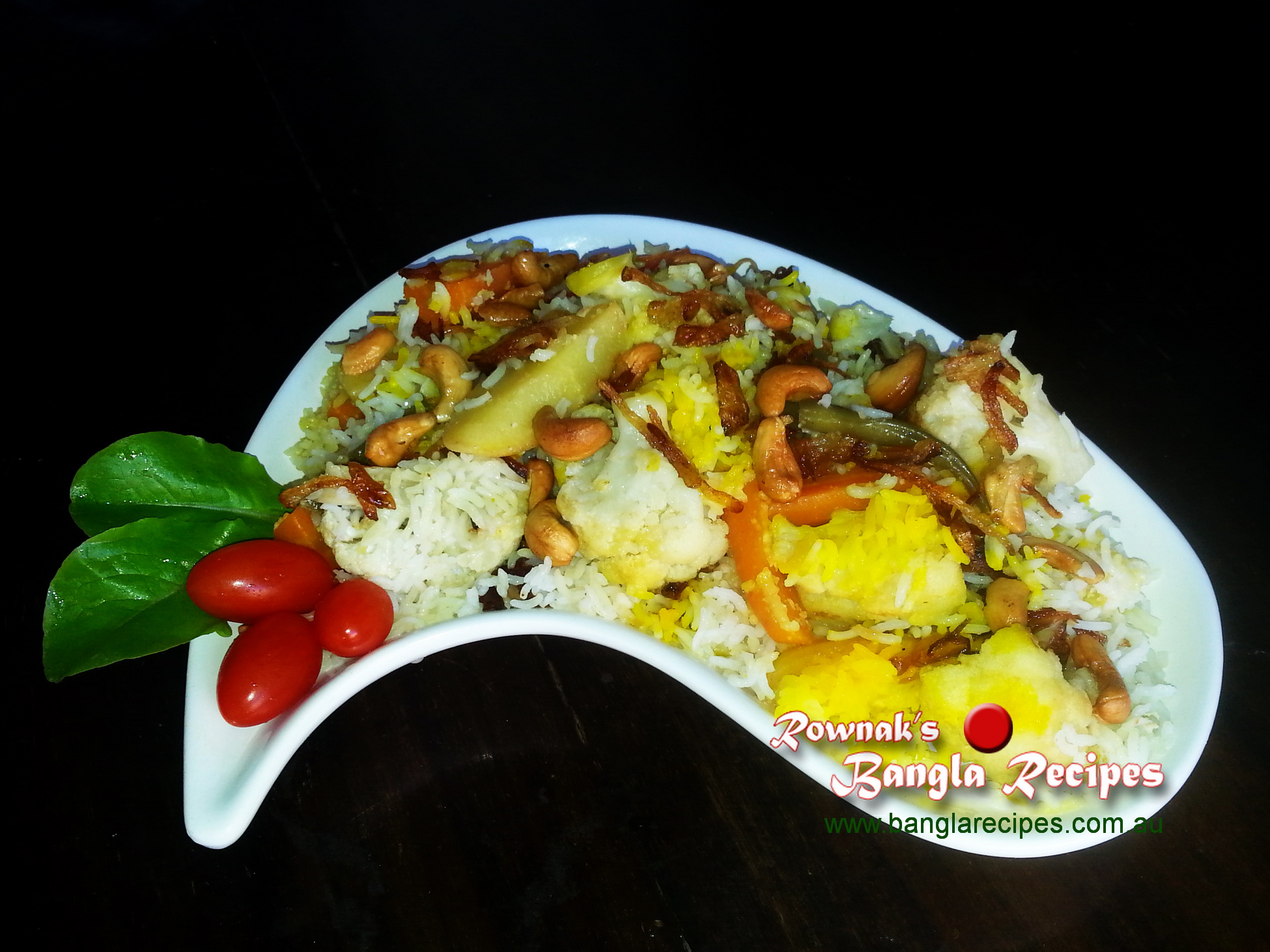 vegetable biryani 1