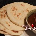 Healthy Naan Roti on Tawa