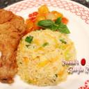 Bangladeshi Chinese Style Egg Fried Rice