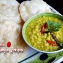 Cholar Dal / Chana Dal / Spilt chick peas ( Puja Special )