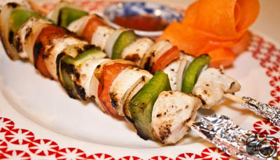 Chicken-shashlik