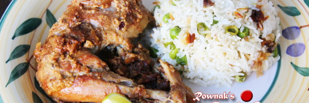 Murgir Roast / Chicken Roast (Bangladeshi Style)