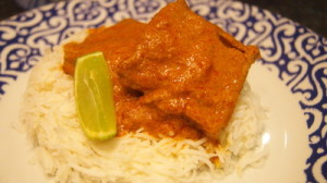 dimer kofta curry