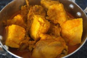 chicken with taro-2