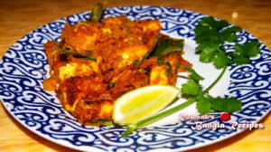 Lebu Patay Rui Mach / Spicy Fish with Lemon Leaf