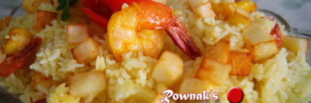 Chingri Polau / Prawn Rice