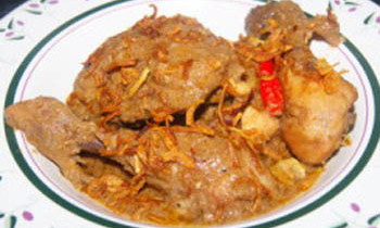 Chicken Rezala
