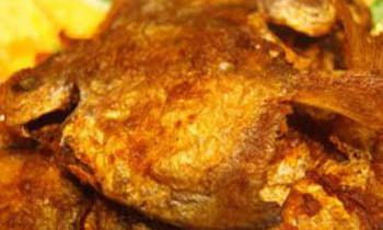 Crispy Pomfret Fry / Crispy Butter Bream Fry / Mochmoche Rupchanda