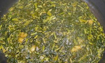 Data Shak bhaja/ Bangladeshi Fried Leafy Vegetables
