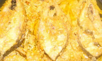 Doi Ilish/ Hilsa in Yogurt