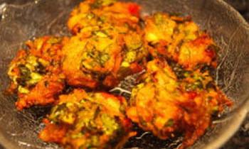 Thankuni Patar Bora / Centella Fritter