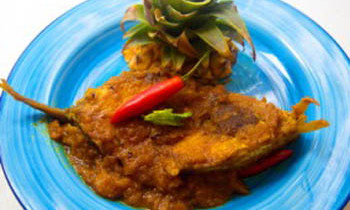 Pineapple Hilsa / Anarosh Ilish