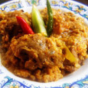 Mutton with Moong Lentil / Dal Khasi