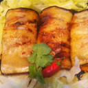 Grilled Eggplant with Stuffing