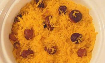 Jorda / Zarda / Sweet rice