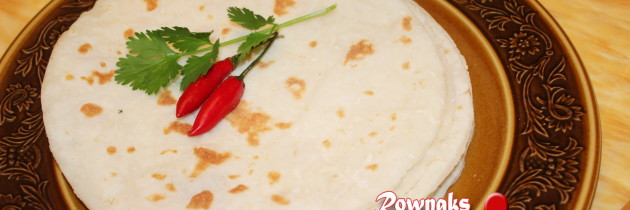 Chaler Ruti /Ruti Pitha / Rice Roti / Gluten Free Flat Bread