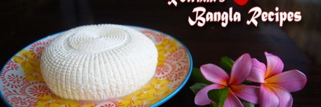Bangladeshi Cheese / Ponir / Paneer