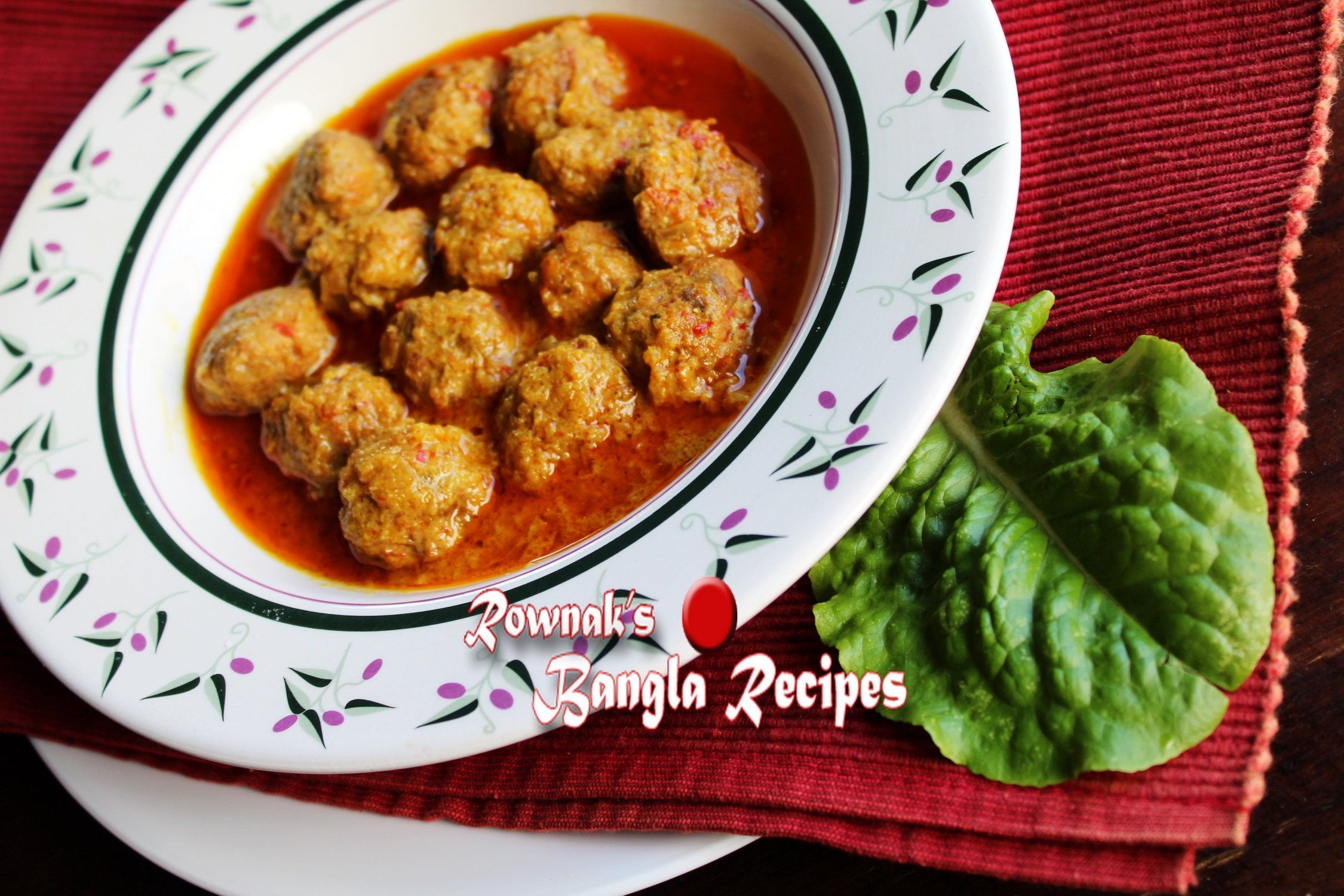 meat kofta curry