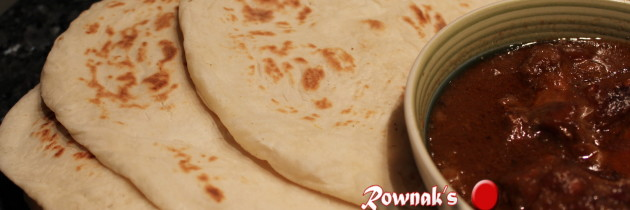 Healthy Naan Roti on Tawa