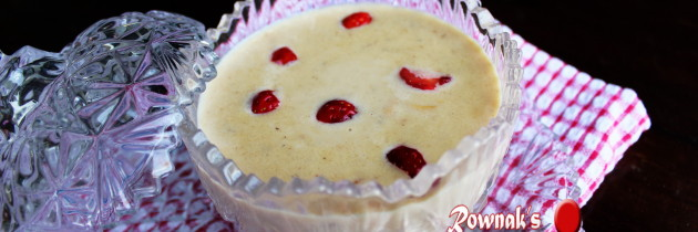 Chirar Payesh / Flattened Rice Pudding