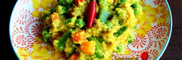 Healthy Oats Khichuri / Spicy Oats