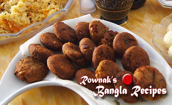 Shami Kabab শ ম ক ব ব Banglarecipes By Rownak