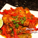Chicken Jalfrezi with Bone / Chicken Jhalfry in My Style