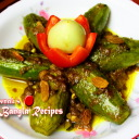 Potoler Dolma / Stuffed Pointed Gourd