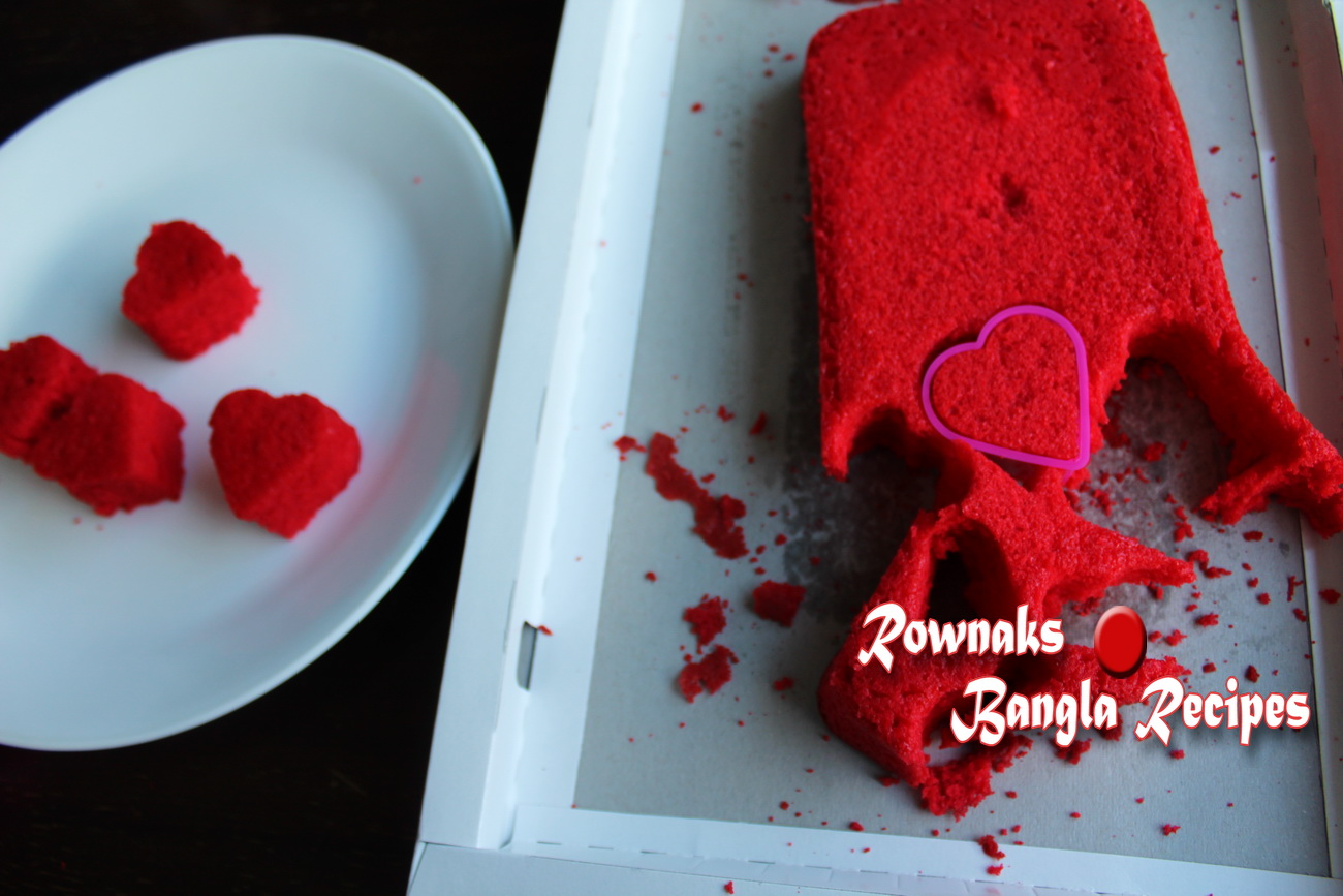 Surprise Inside Valentine Cake 4