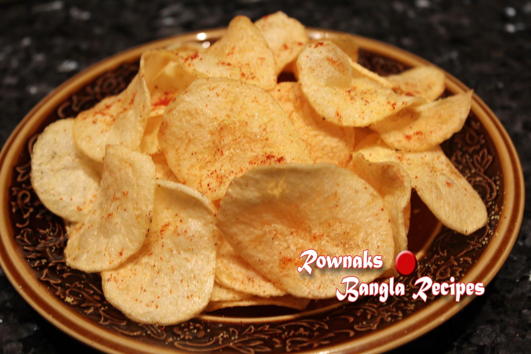 Homemade potato chip