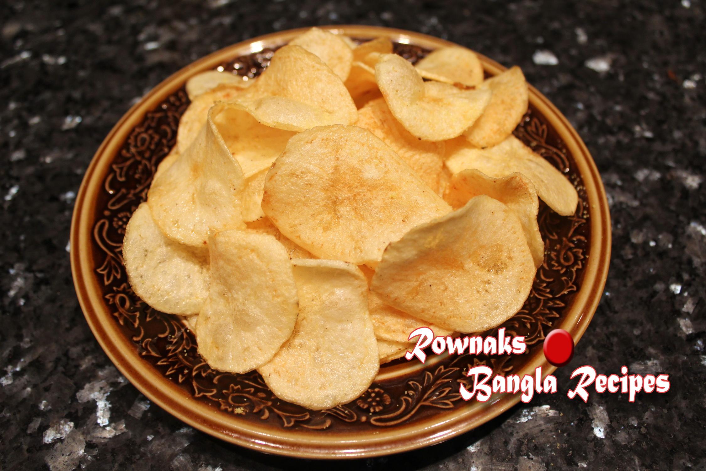 homemade potato chip 1